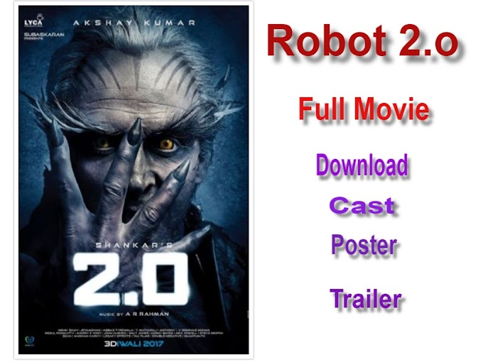 Robot 2.0 Full HD Movie Download In Hindi