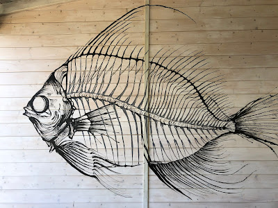 A fish design from Aquasalata Nisporto.
