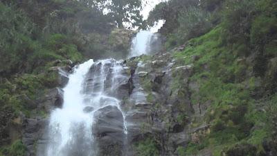 Tempat wisata Air Terjun Rambut Moyo di pasuruan jawa timur