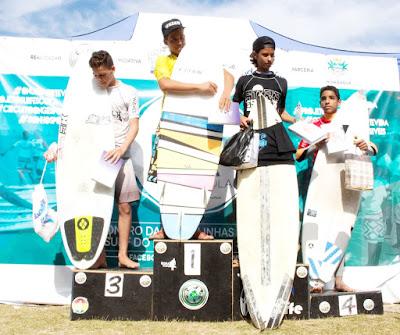 Atletas da Ilha Comprida se destacaram em Circuito de Surf, em Mongaguá