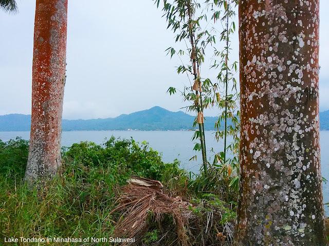 Lake Tondano in Minahasa regency