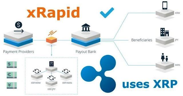 Ripple uses Xrapid Platform