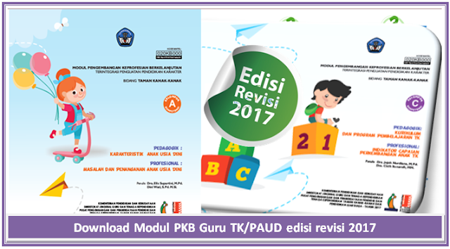 Download Modul PKB Guru TK/PAUD edisi revisi 2017