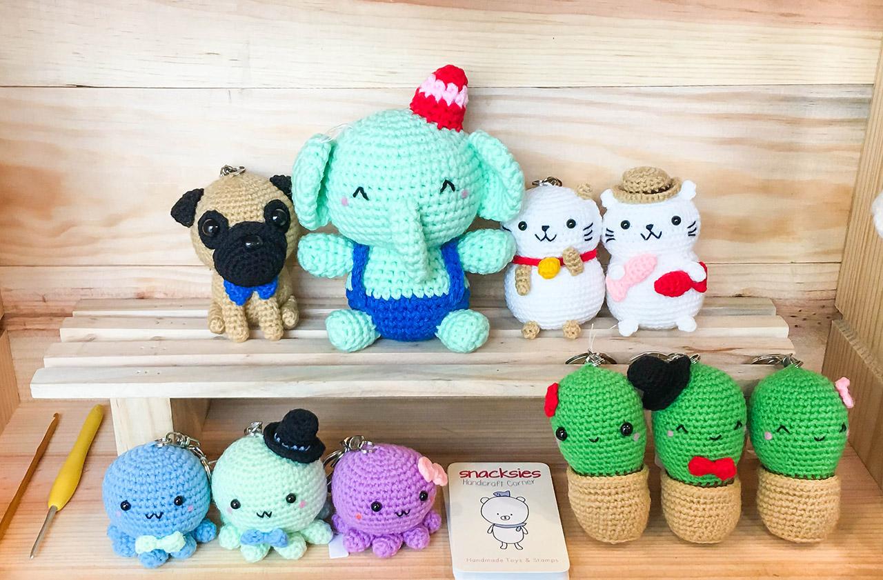 Amigurumi Online Crochet Craft Store : Pop-up store! ~ Snacksies Handicraft Corner