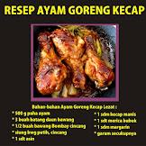 Resep Ayam Goreng Kecap Rumahan dan Cara Membuatnya