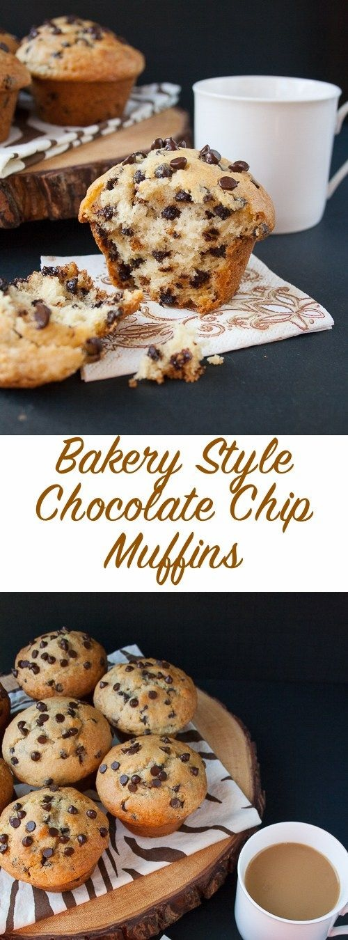 Bakery Style Chocolate Chip Muffins