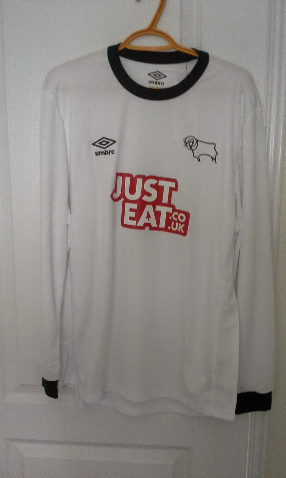 My Umbro Football Jerseys Collection Derby County 20142015