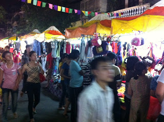 Viejo mercado de Hanoi. Mercado Antiguo de Hanoi