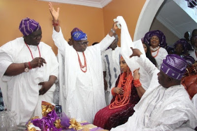 ooni of ife wedding to Wuraola Zynab Otiti