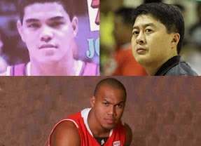 Johnny Abarrientos (Flying A), Kenneth Duremdes (Captain Marbel), and Willie Miller (The Thriller)