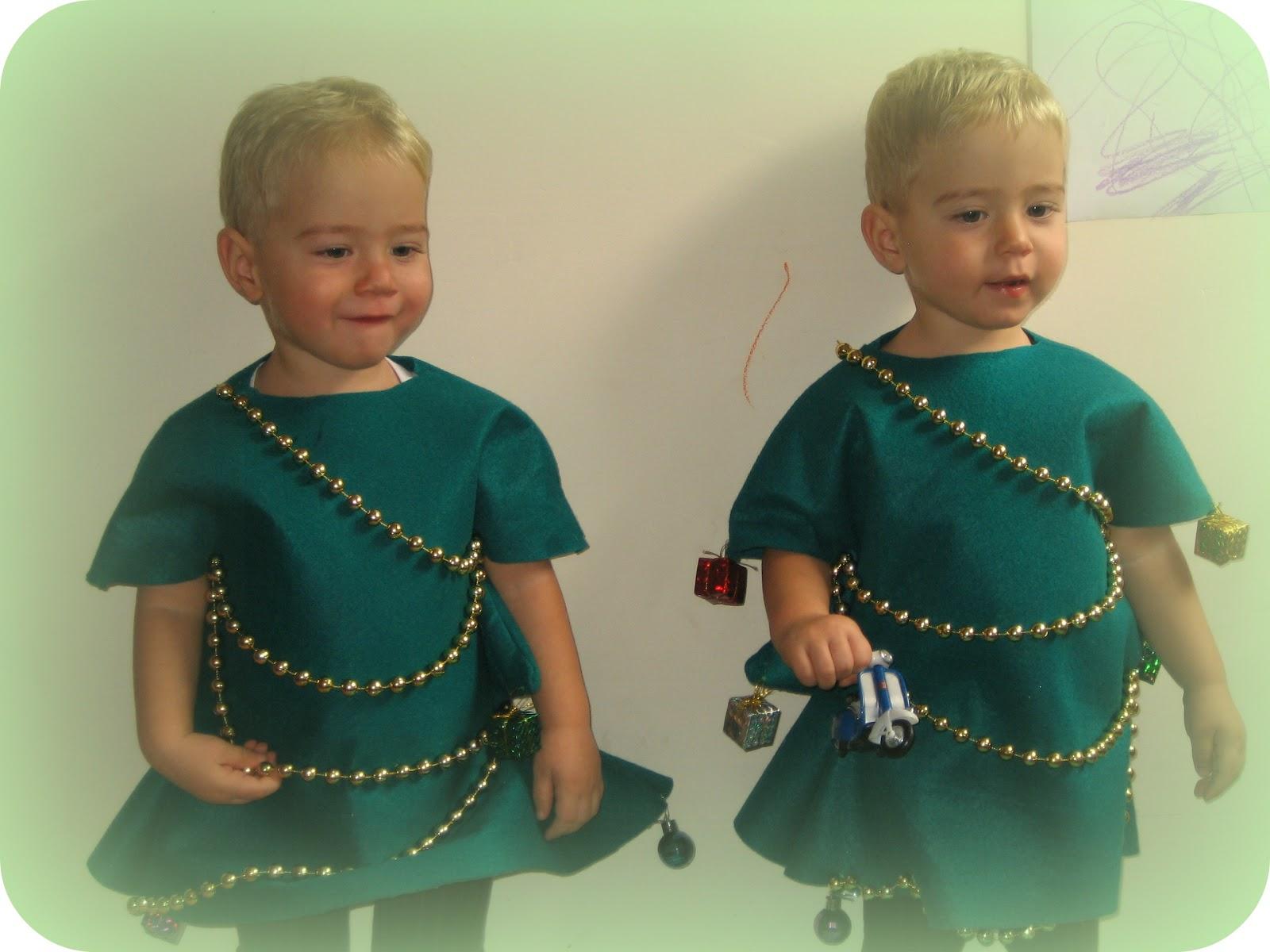 Creando Ardiles Disfraz De Arbol De Navidad - Como-hacer-disfraces-de-navidad