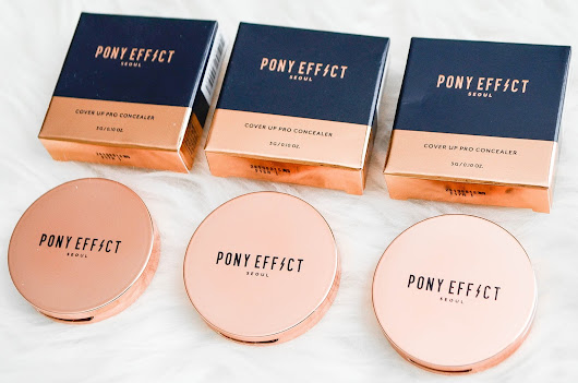 REVIEW + SWATCHES: Pony Effect Cover Up Pro Concealer (Ivory, Beige, Buff)