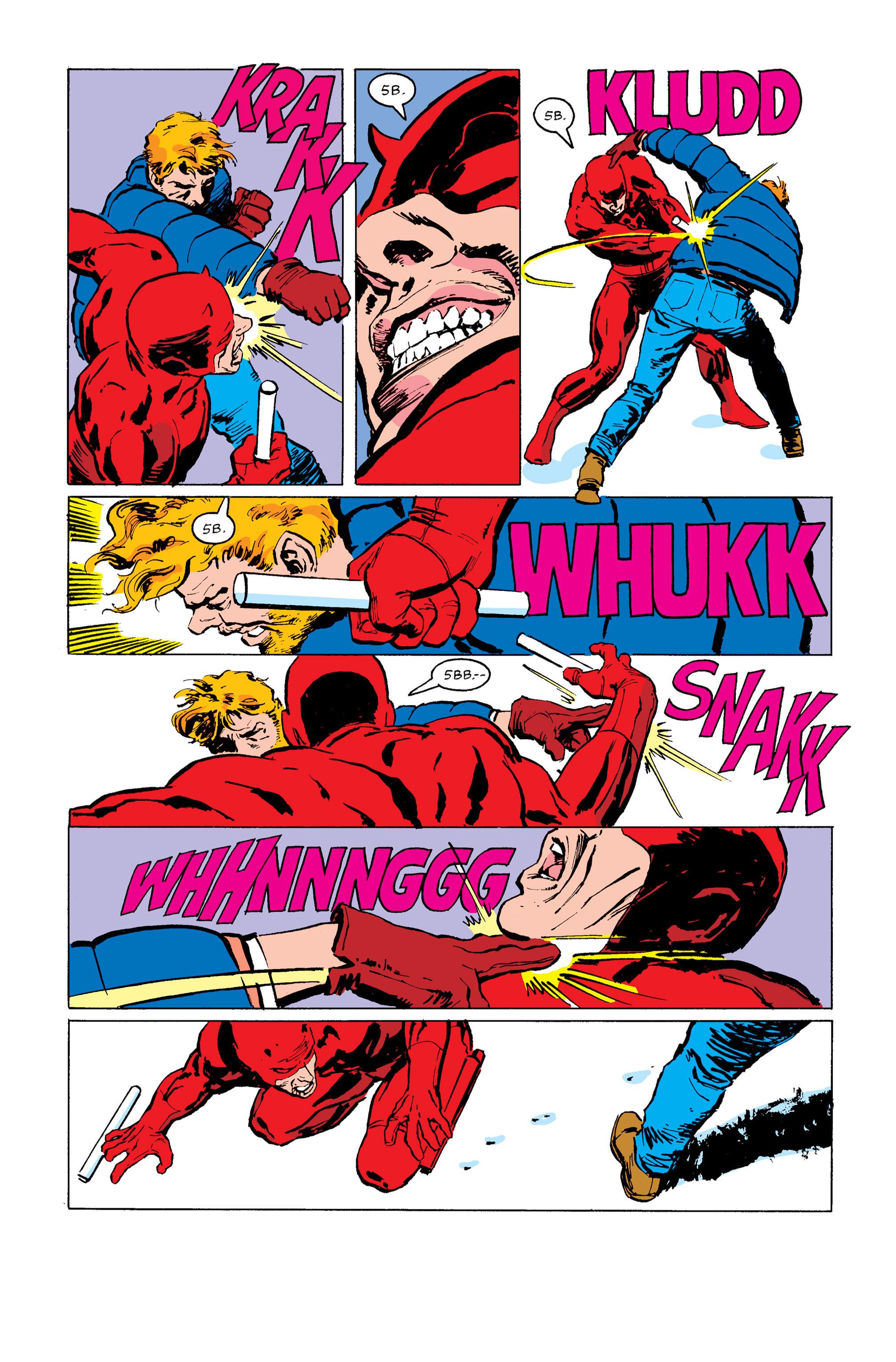 Read online Daredevil: Born Again comic -  Issue # Full - 141