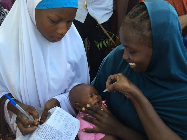 The 6th polio campaign in Borno state took place between 15 -19 December