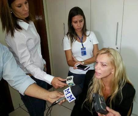 Na tarde desta sexta-feira a advogada criminalista Sandra Becker, 43 anos,  concedeu entrevista na sede do 4º Batalhão da Policia Militar em Maringá,  ... be11a9b0dc