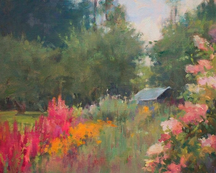 Пейзажная живопись. Karen Blackwood