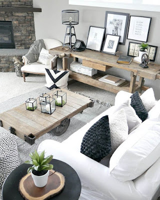 10 Ideas to decorate your house in the modern rustic style.