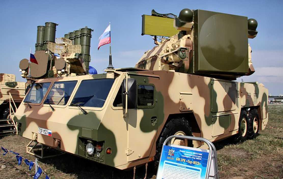 Belarusia Beli Komplek Sistem Petahanan Udara Tor-M2