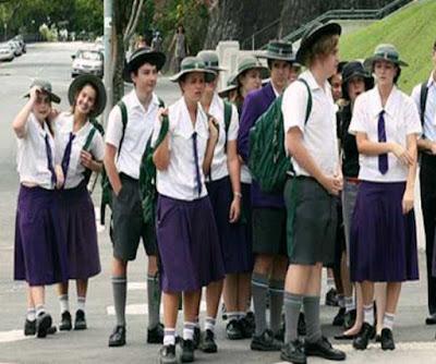 الزي المدرسي في أستراليا