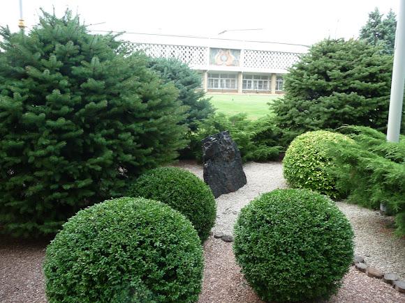 Донецьк. Ботанічний сад. Вугілля і сад