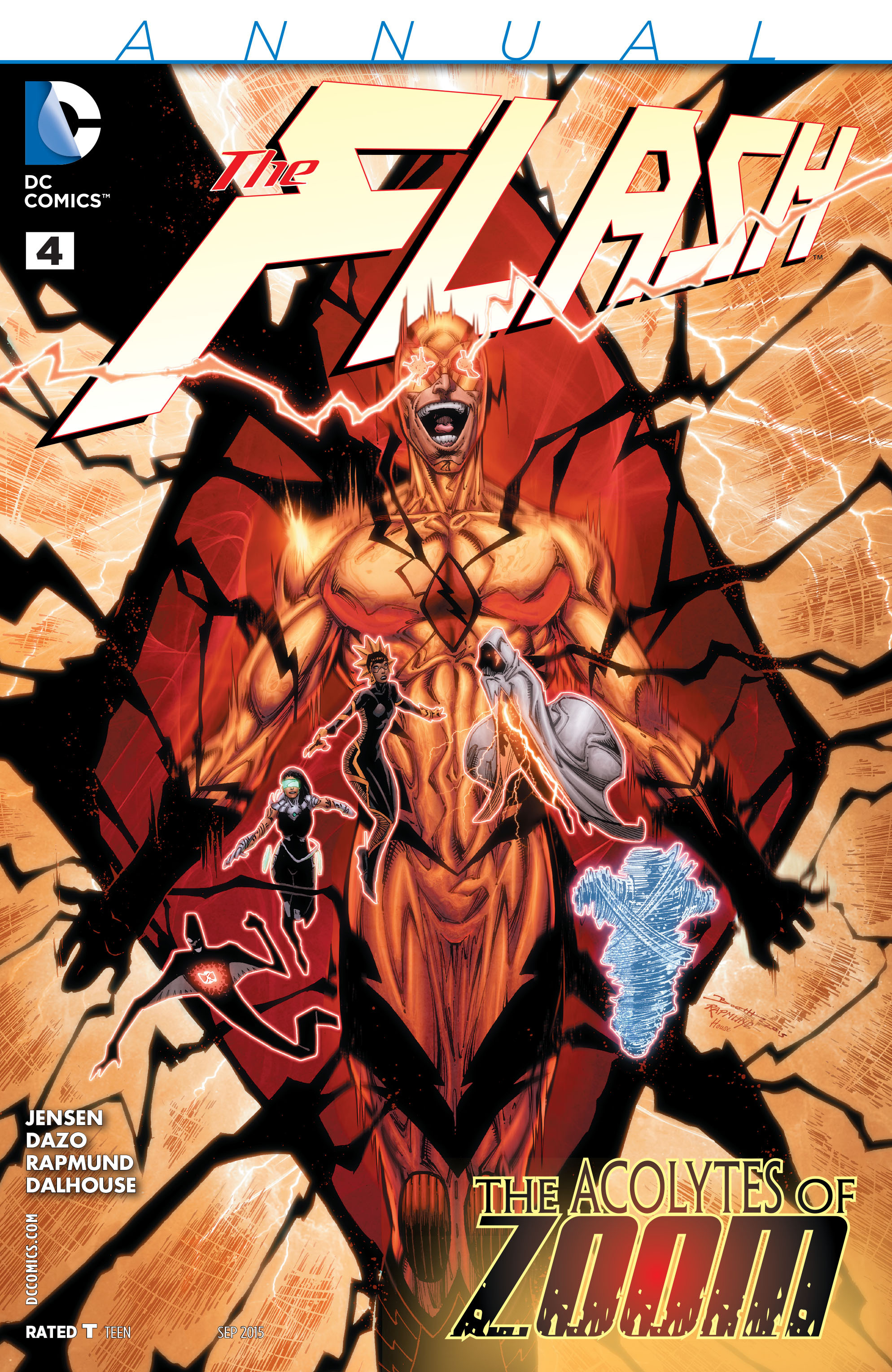 Read online The Flash (2011) comic -  Issue # Annual 4 - 1