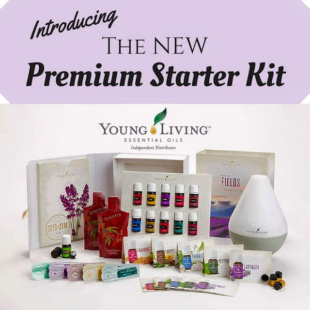 The NEW Premium Starter Kit from Young Living is awesome!