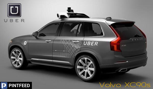PintFeed | uber_Volvo XC90 SUVs