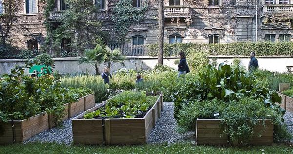 Progettare spazi verdi orti urbani un orto verticale per for Progettare spazi verdi