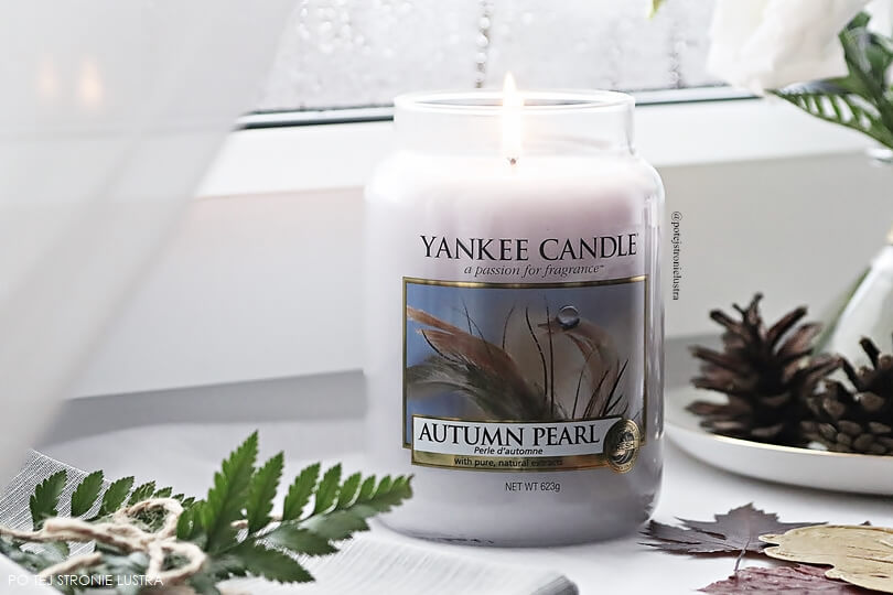 yankee candle autumn pearl q3 2018 świeca zapachowa