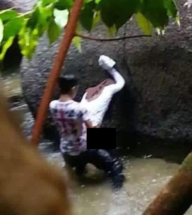 Kedahnews Com Ada Pasangan Kantoi Sedang Asyik Di Sebalik Batu
