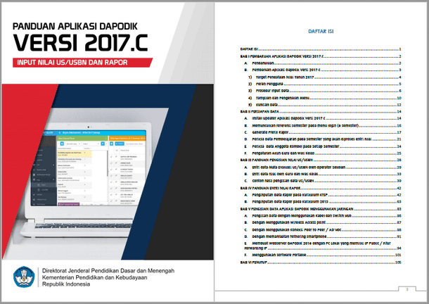 Panduan Teknis Aplikasi Dapodik Versi 2017c