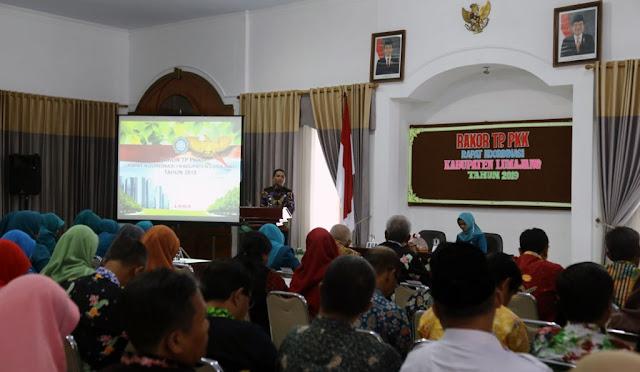Rapat Koordinasi TP PKK Kabupaten Lumajang 2019