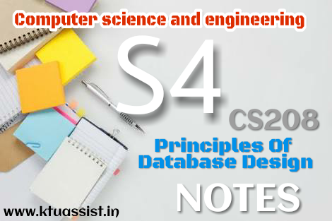 database design notes Design and create a new database  creating and using databases with microsoft access a-9 a query allows you to select what part of the data you want to see onscreen.