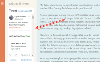 Cara Pasang Widget Timeline Twitter di Blog Non AMP Fajrin web Id