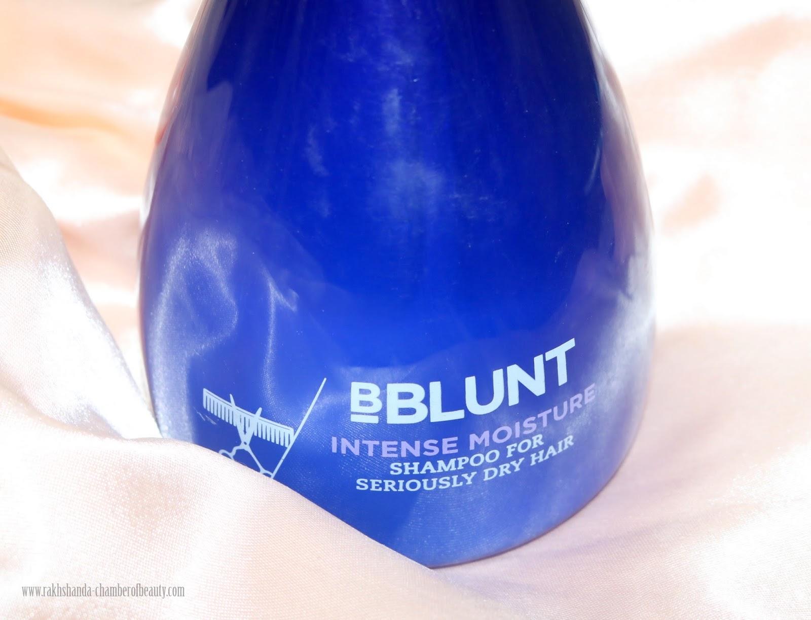 BBlunt, BBlunt Intense Moisture Shampoo,Indian beauty blogger, BBlunt Intense Moisture Shampoo Review & Price,