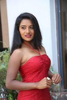 Mamatha sizzles in red Gown at Katrina Karina Madhyalo Kamal Haasan movie Launch event 224.JPG