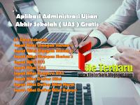 Aplikasi Administrasi Ujian Akhir Sekolah ( UAS ) Gratis