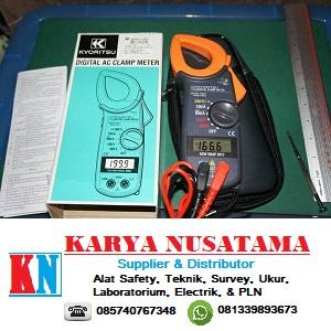 Jual Pengukur Arus AC Digital Clamp Meter Tang Ampere di Surabaya