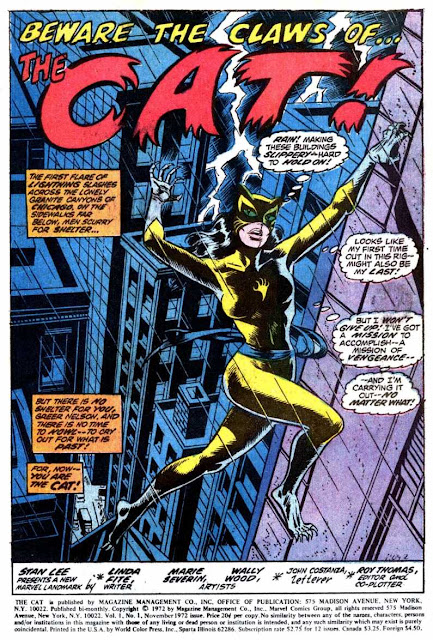 Beware the Claws of the Cat - Marvel Comics