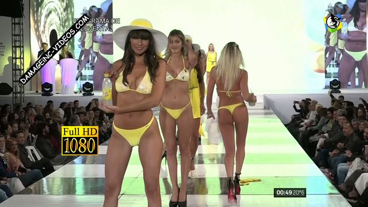 Janah Grinfeld and Candela Ruggeri in yellow bikini Damageinc Videos Full HD