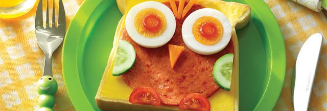 roti burung hantu dari roti tawar telur dan aneka sayuran