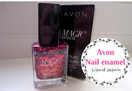 Avon Magic effects - Liquid sequin v odstínu Dazzle