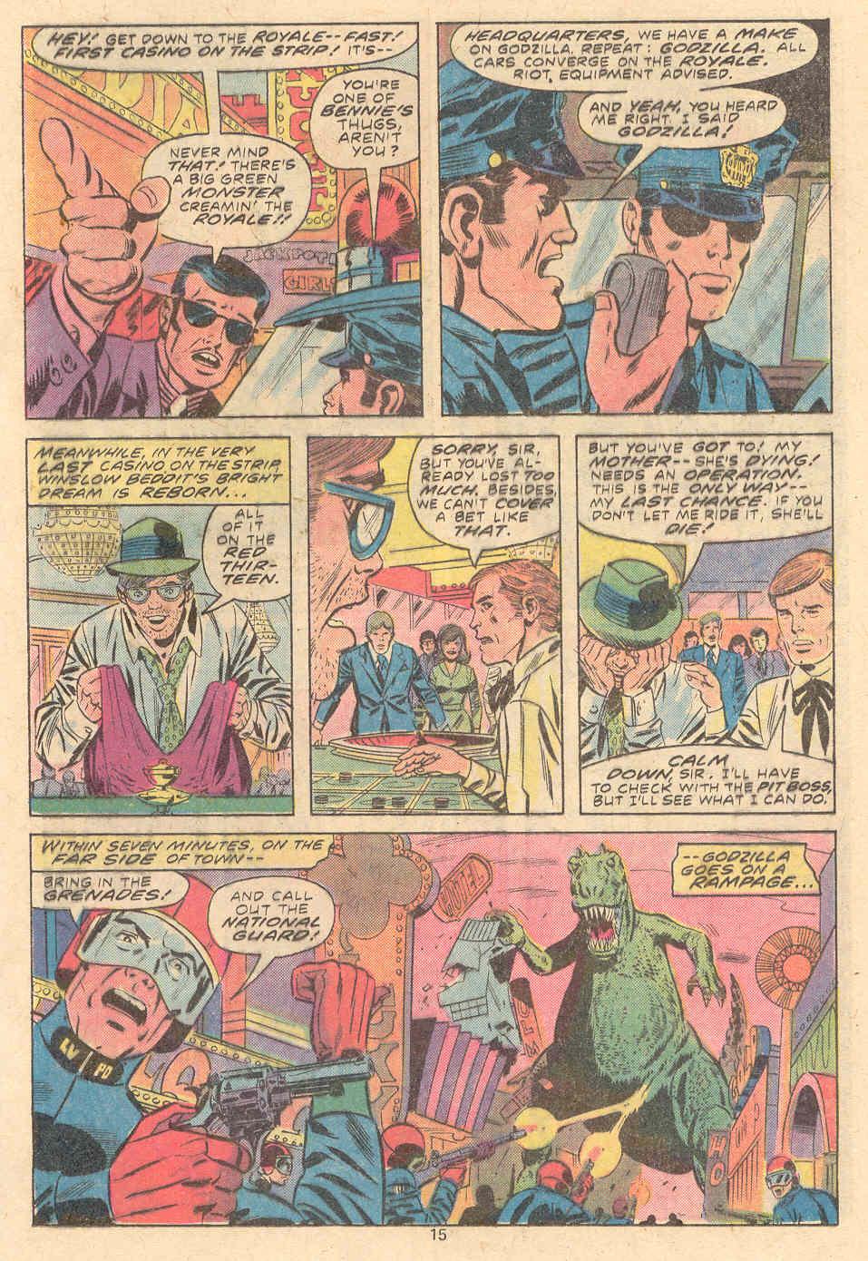 Godzilla (1977) Issue #9 #9 - English 10