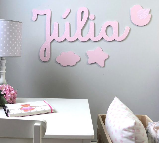 Nombres infantiles para decorar