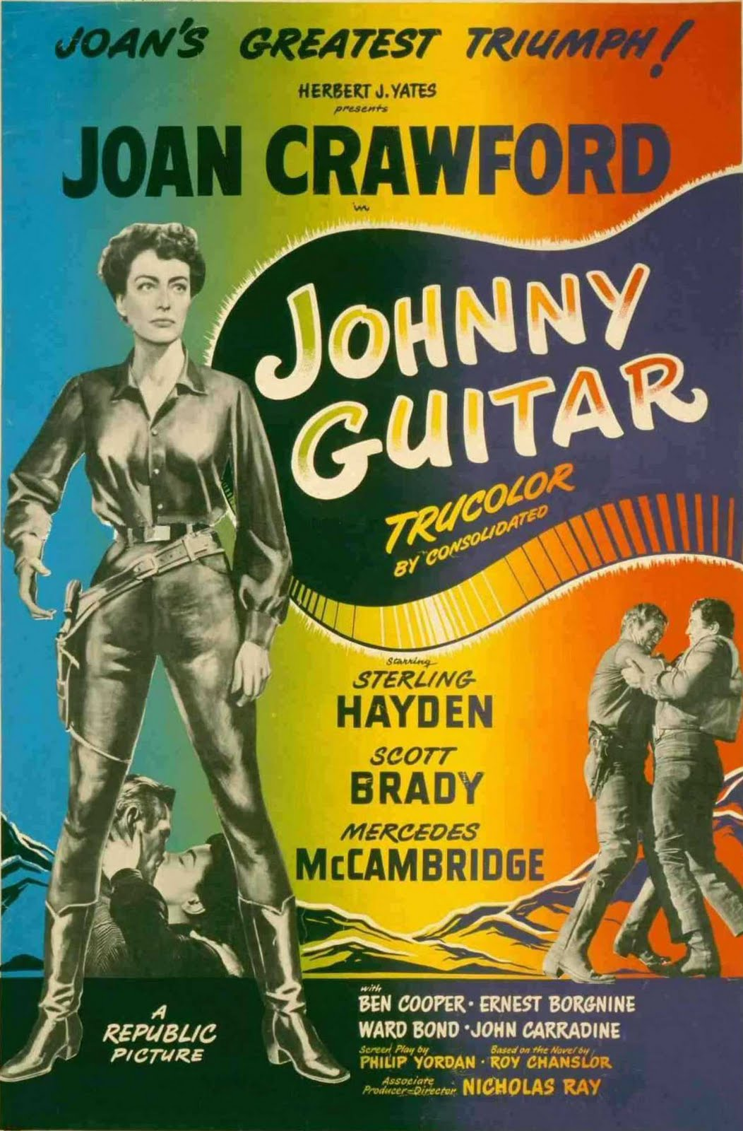 23/08/1954· johnny guitar by peggy lee and victor young sung by peggy lee heard instrumentally over the opening credits and throughout the film played on the piano by joan crawford (dubbed) sung partially at the end by peggy lee top review 8/10 magical and mythic western with unerring sense of style Aspect Ratio Unknown: Johnny Guitar (1954)