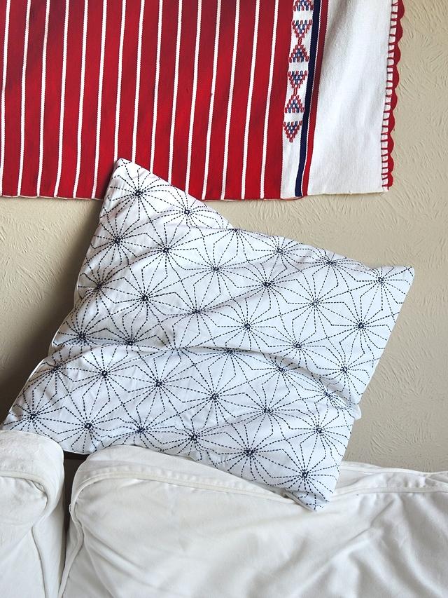 free sashiko embroidery pattern