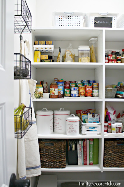Tips for a pretty and functional pantry