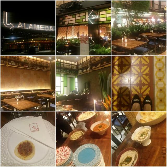 Onde comer em Campinas - Saj Restaurante (Shopping Dom Pedro)