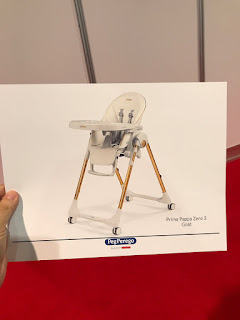 the Prima Pappa Zero 3 High Chair by Peg Perego