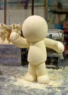 "pierre rouzier_Sesame Workshop - ""doll david"" sculpture"